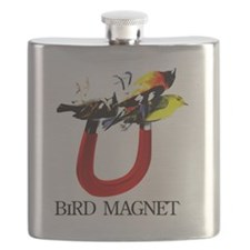 BIRD MAGNET T-SHIRT Flask