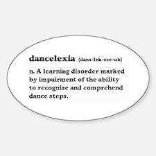 Dancelexia Decal