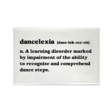 Dancelexia Rectangle Magnet