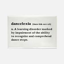 Dancelexia Rectangle Magnet