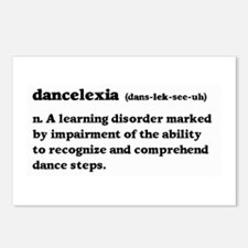 Dancelexia Postcards (Package of 8)