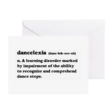 Dancelexia Greeting Cards (Pk of 10)