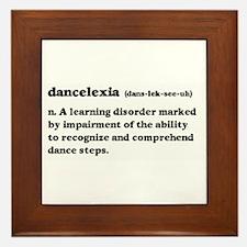 Dancelexia Framed Tile