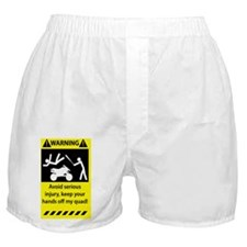 Warning_0111_3.5x5.5 Boxer Shorts