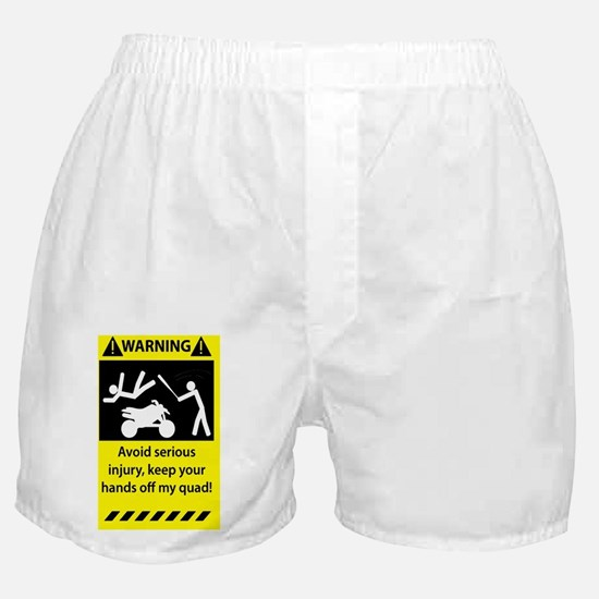 Warning_0111_3.5x5.5 Boxer Shorts