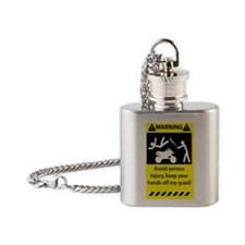 Warning_0111_3.5x5.5 Flask Necklace