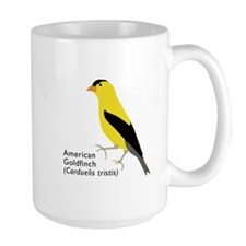 american goldfinch Mugs
