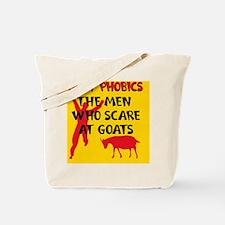 Goat Phobic2_Pill Tote Bag