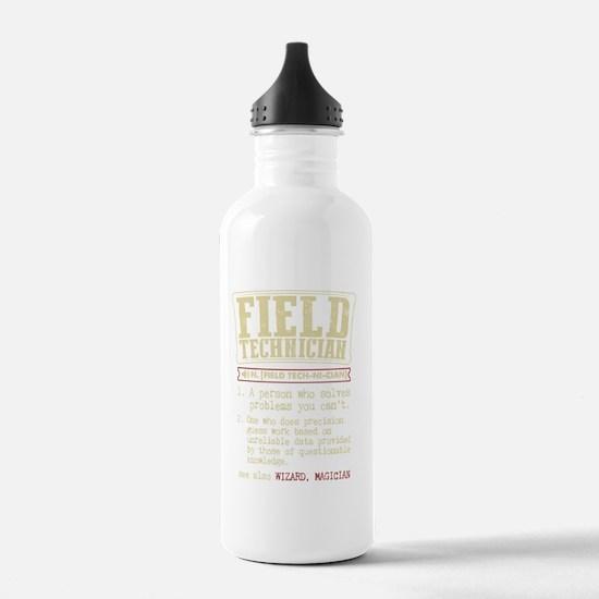 Field Technician Dicti Water Bottle