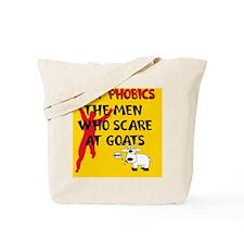 Goat Phobic_pill Tote Bag