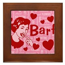 valentine-barf_13-5x18 Framed Tile