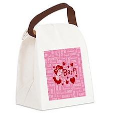 valentine-barf_b Canvas Lunch Bag