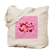 valentine-barf_b Tote Bag