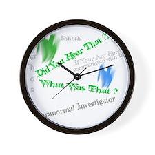 hear Wall Clock