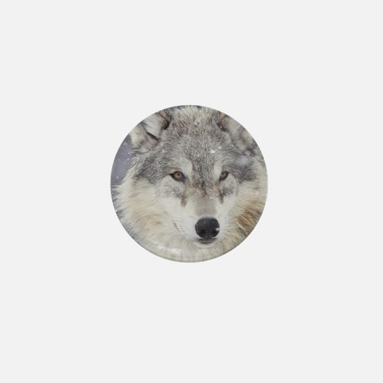 ms  Wolf Mini Button