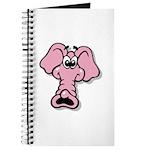 Pink Elephant Cartoon Journal