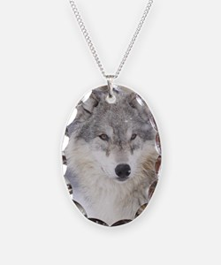 x14  Wolf Necklace