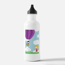 balloon11x17_print Water Bottle