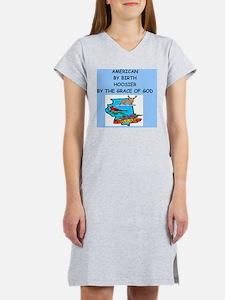HOOSIER Women's Nightshirt