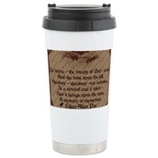 Edgar Allan Poe Breath Card2 Travel Mug