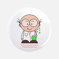 Medical Laboratory Professionals 3.5&Quot; Button