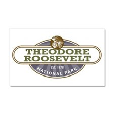 Theodore Roosevelt National Park Car Magnet 20 x 1