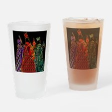 WiseMenBlack Drinking Glass