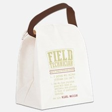 Cute Field Canvas Lunch Bag