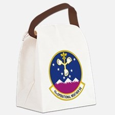 11th Op WX Sq (Color) Canvas Lunch Bag