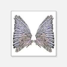 "Wings Square Sticker 3"" x 3"""