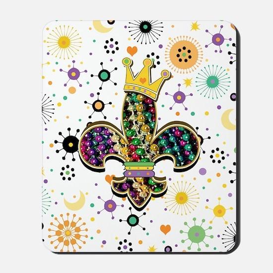 FleurCelebrPatF460ipadW Mousepad