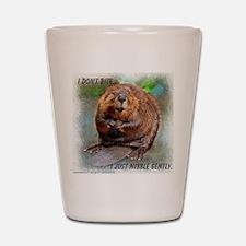Beaver cp Shot Glass