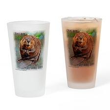 Beaver cp Drinking Glass