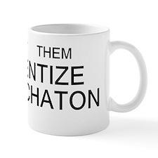 immanentize bumper Small Mug