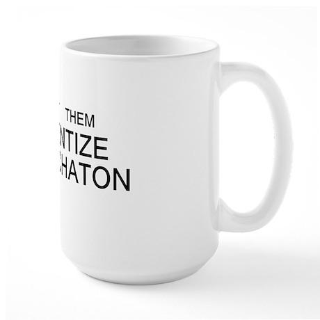 immanentize bumper Large Mug