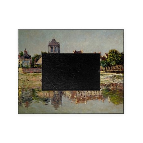 By the River at Vernon, by Monet Picture Frame
