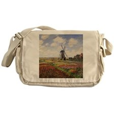 Tulip Fields with the Rijnsburg Wind Messenger Bag