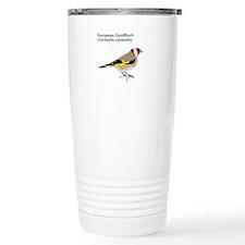 european goldfinch Travel Coffee Mug