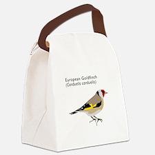european goldfinch Canvas Lunch Bag