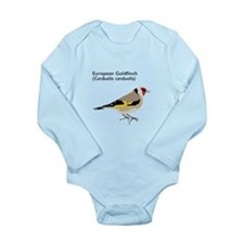 european goldfinch Long Sleeve Infant Bodysuit