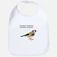 european goldfinch Bib
