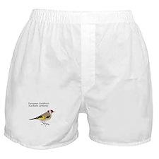 european goldfinch Boxer Shorts