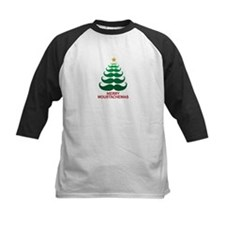Moustachemas Christmas Tree Tee