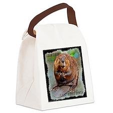 Beaver 2 bb cp Canvas Lunch Bag