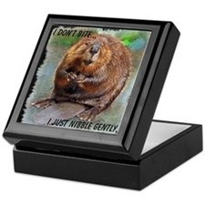 Beaver 2 bb cp Keepsake Box
