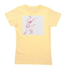 rock the ice pink Girl's Tee