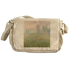 Meadows in Giverny,  by Monet Messenger Bag