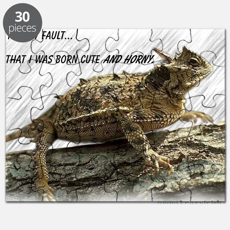 Horny Toad Pic cp Puzzle