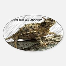 Horny Toad Pic cp Decal