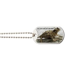 Horny Toad Pic cp Dog Tags